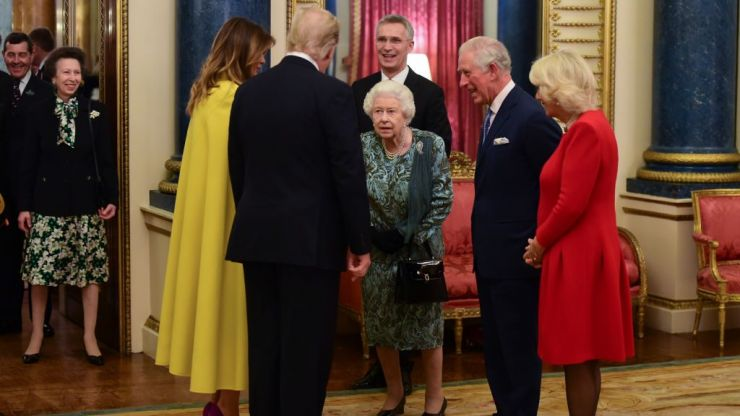 The Queen gives out to Princess Anne for snubbing Donald Trump and we can't stop watching