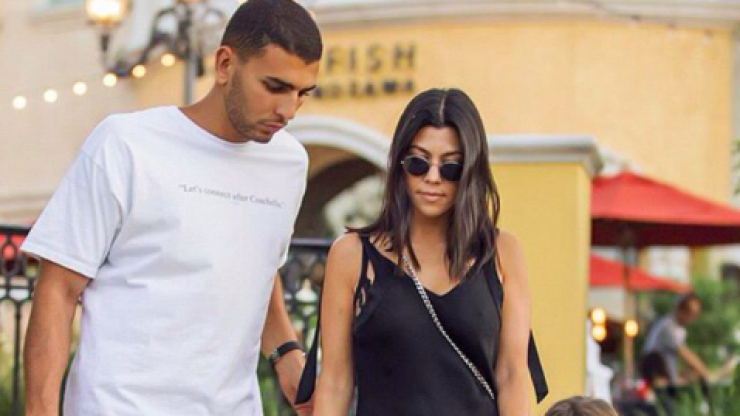 Kourtney Kardashian and Younes Bendjima are snapped together amid rumours they're dating again