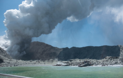 One person has been killed, and several injured after a volcano eruption in New Zealand