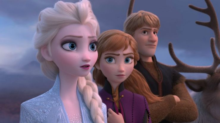There's a post-credits scene in Frozen 2, in case you want to go watch it again