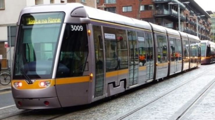 Some Luas red line services have been cancelled due to a technical fault