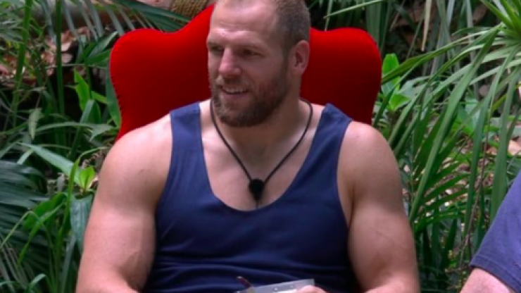 'Bit intense' James Haskell's wife doesn't think he's bullying anyone in I'm A Celeb