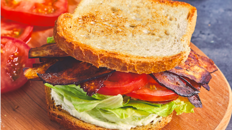 Go veggie or vegan for brunch today with a 'fake-on' BLT recipe