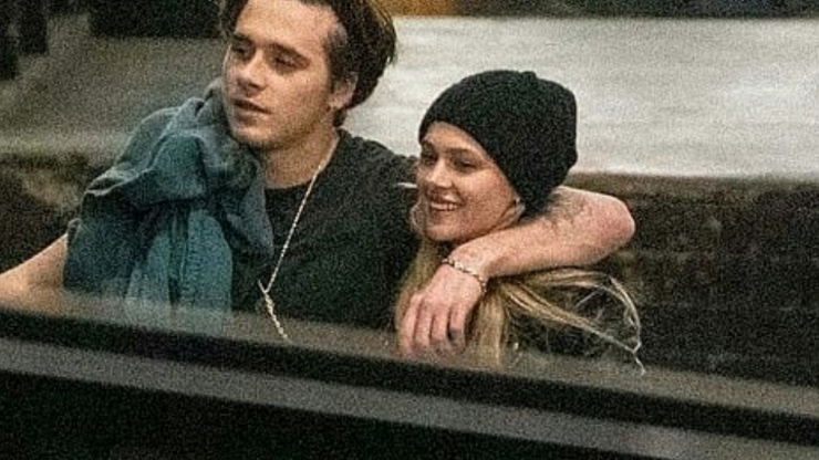 Brooklyn Beckham spotted with his new girlfriend, Nicola Peltz during a family outing at the theatre