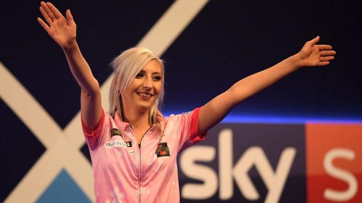 Fallon Sherrock makes history as first woman to ever beat a man at PDC World Darts Championship