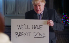 Boris Johnson's 'Brexit, Actually' Love Actually skit is just as painful as you'd expect