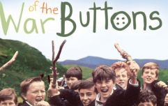 The beloved War of the Buttons will be shown on TV over the Christmas season