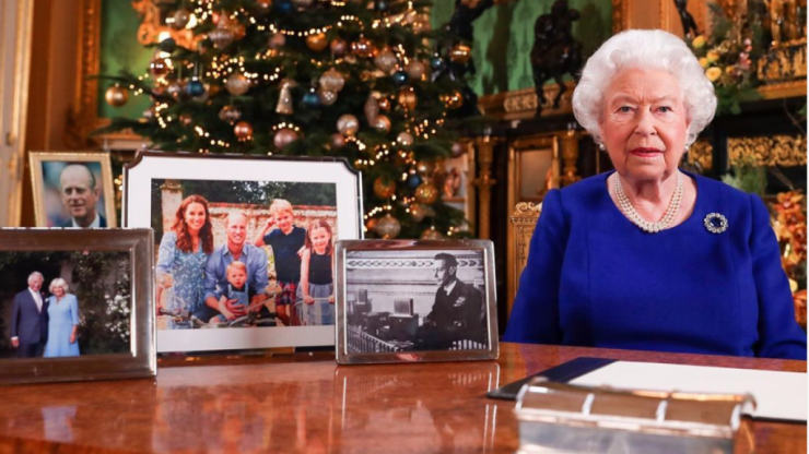 Fans question why Meghan, Harry and Archie are missing from the Queen's Christmas speech