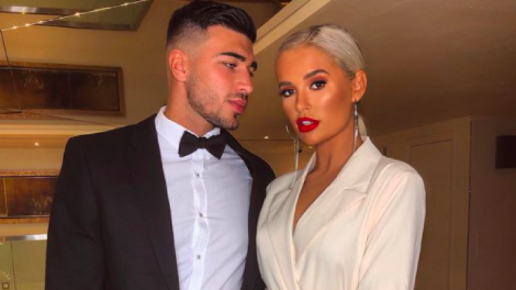 Molly-Mae Hague and Tommy Fury spark engagement rumours as she shares Christmas photo