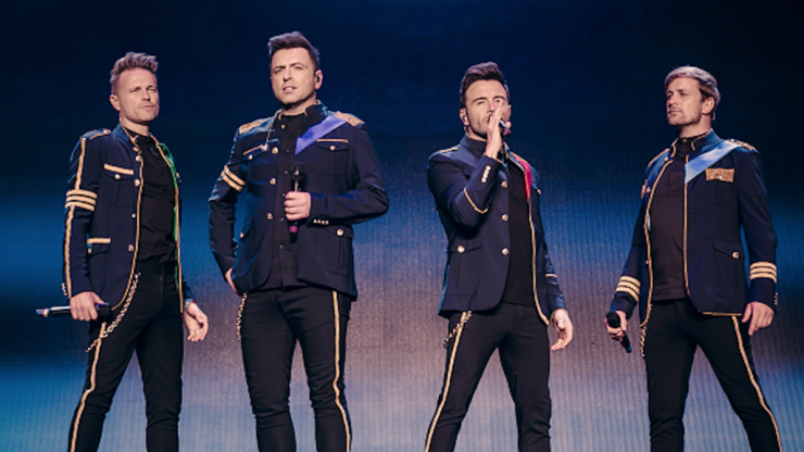 Westlife are giving one lucky fan the chance to have them play at their wedding