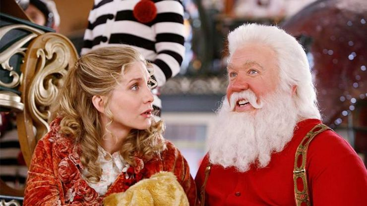 The Santa Clause 2 is on telly tonight, so that's our Saturday night in sorted