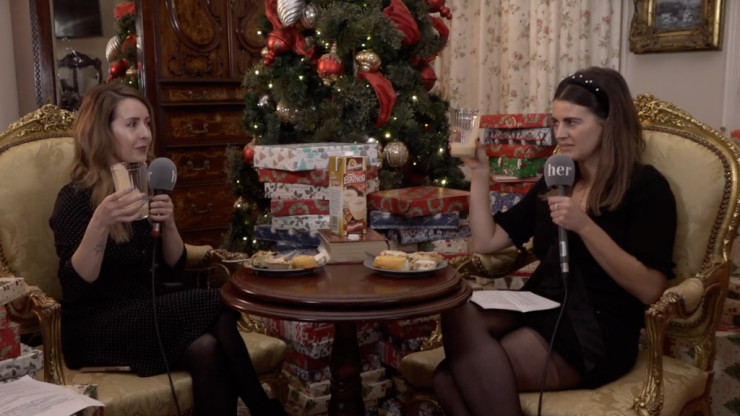 WATCH: We tried eggnog for the first time and have some very important thoughts