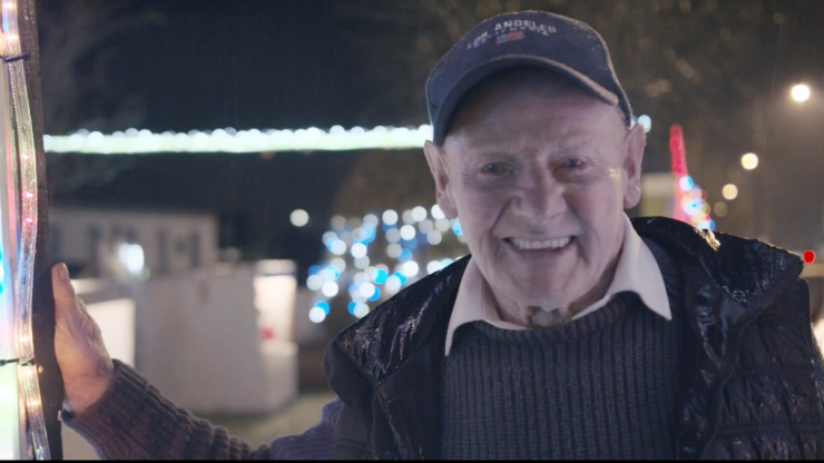 WATCH: Meet 88-year-old 'Paddy Christmas' who has become a local hero for his festive lights