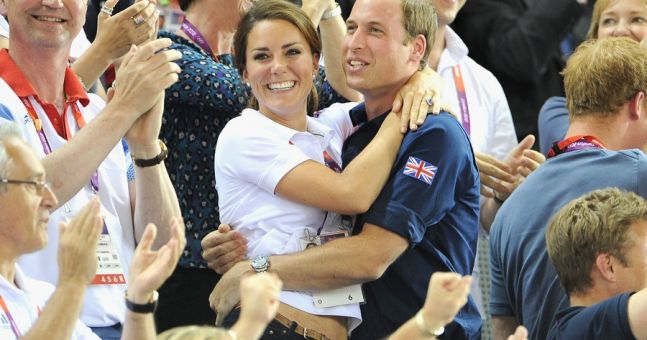 PDA Alert - Kate & Wills in Possibly the Cutest Pics Ever