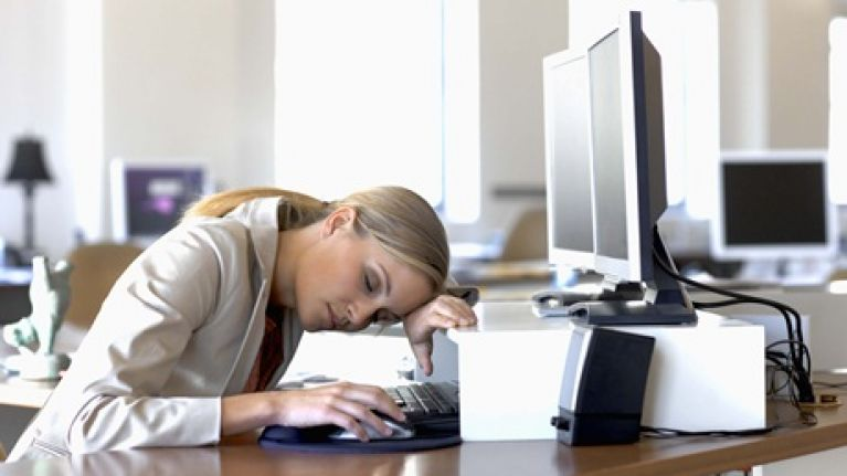 You Won't Believe How Many Irish People Admit To Having A Nap At Work