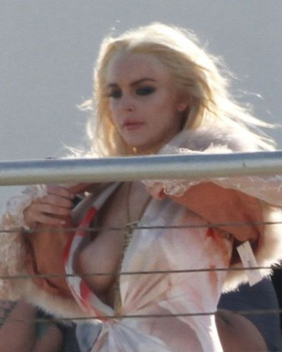 If Gaga does it, Lohan must do it too...