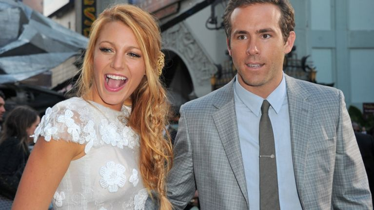 Blake Lively Wedding Dress.Revealed Blake Lively Releases A Picture Of Her Wedding Dress Her Ie