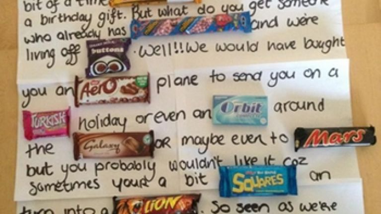 Picture Irish Girls Make Dad The Greatest Birthday Card Ever Her