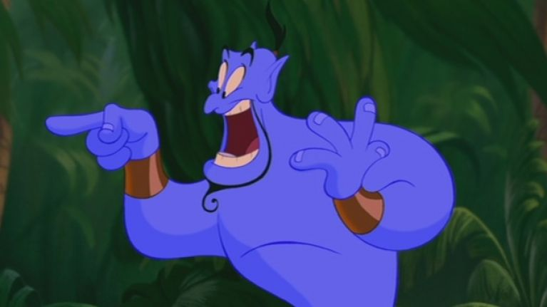Disney Releases Unseen Footage Of Robin Williams As Genie In Aladdin