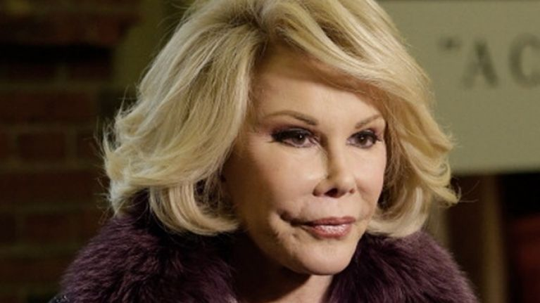 """WATCH: Joan Rivers Calls Obama Gay And The First Lady """"A Tranny"""