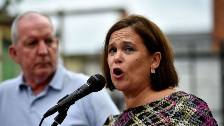 Mary Lou McDonald confirms she has tested positive for Covid-19