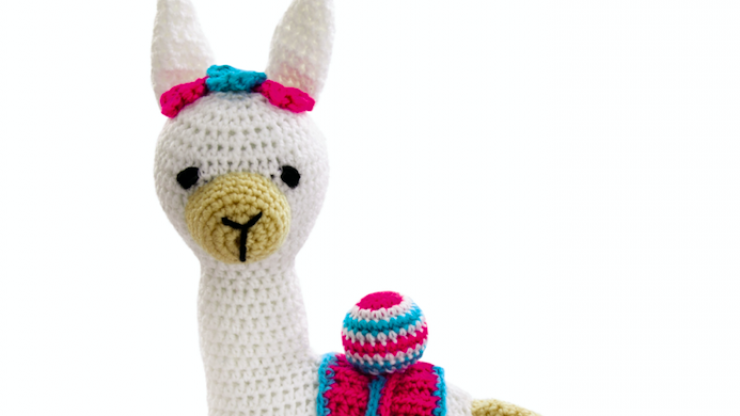 Aldi has a range of craft supplies landing  this week and you can crochet your own llama