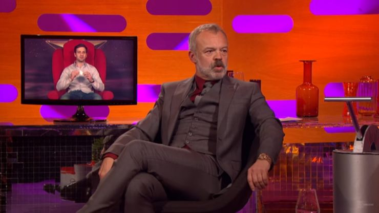 Here's the line up for tonight's Graham Norton show