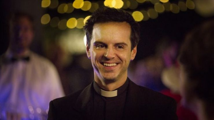 Andrew Scott has recorded a reading of a reassuring poem and it's sexy priest 1, Connell 0