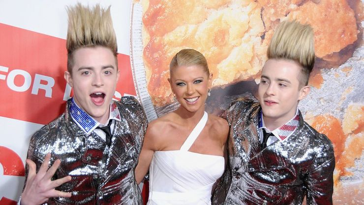 Jedward are self-isolating in LA with Tara Reid, and other things you definitely need to know today