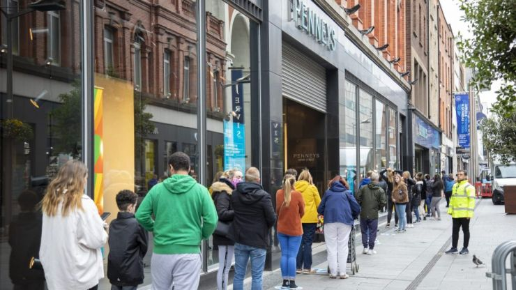 Thanks, Penneys: Significant queues as stores reopen nationwide