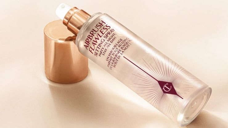 Charlotte Tilbury announces the launch of her first setting spray and YES!