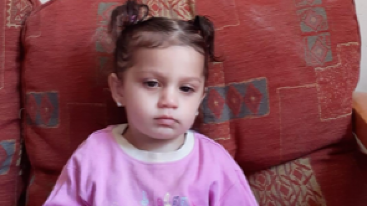 UPDATE: Gardaí have found 23-month-old Jasmine Arshad safe and well