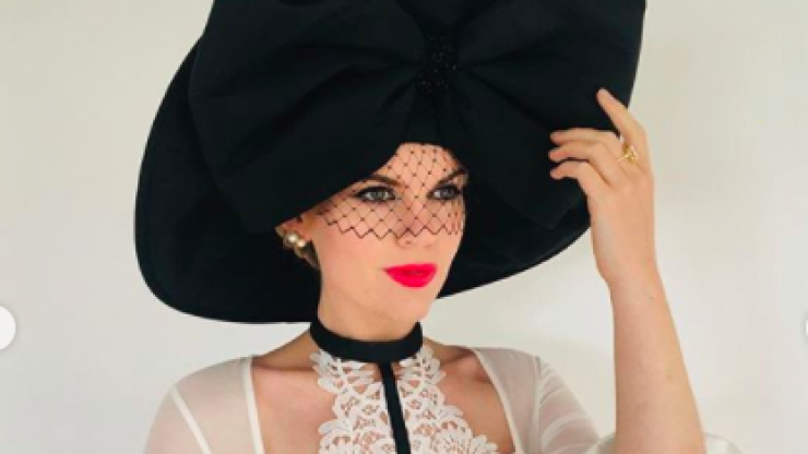 Danielle Gingell crowned the winner of this year's Galway Races 'Virtual Best Dressed' competition