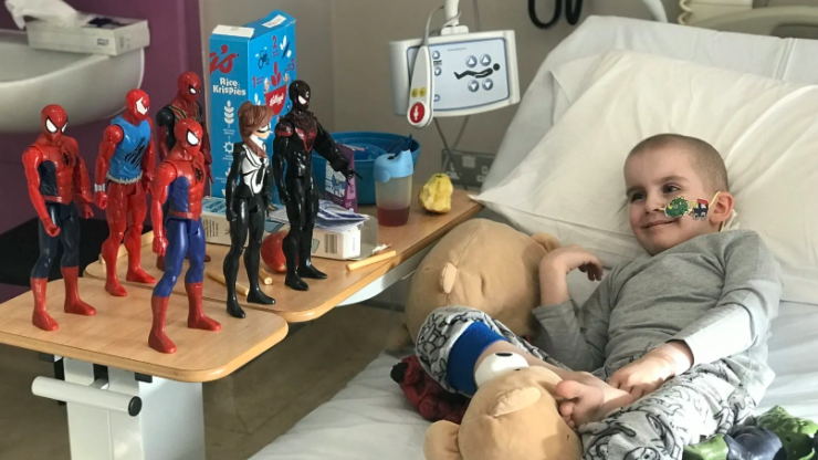 This family are looking for your help to save their superhero son from cancer