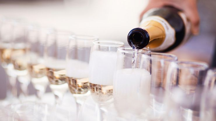 All wedding guests must be gone by 11.30pm in accordance with new guidelines