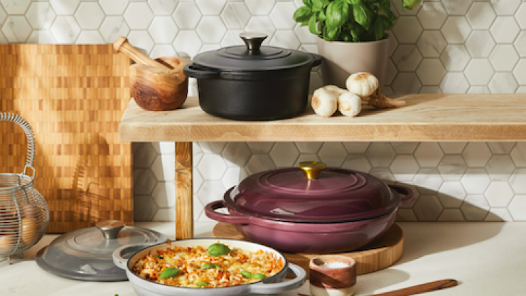 The 'Cast-Iron Collection' is dropping in Aldi soon and it's absolutely stunning