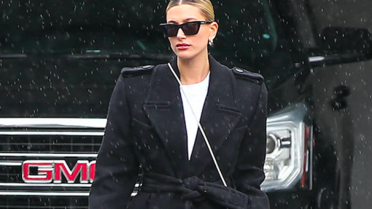 The top 4 times Hailey Bieber rocked an oversized jacket
