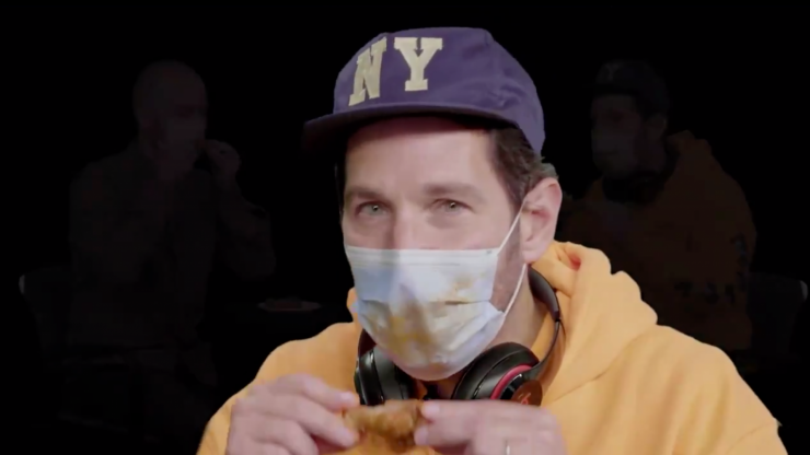 WATCH: Paul Rudd tells us all why we should, obviously, wear a mask