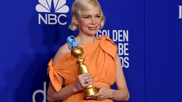 Michelle Williams made a moving speech about women's rights at the Golden Globes