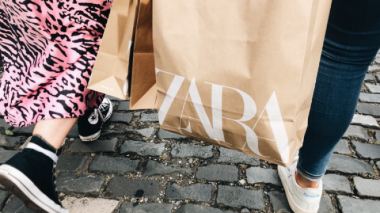 The most gorgeous Zara snake print knee-high boots are on sale right now