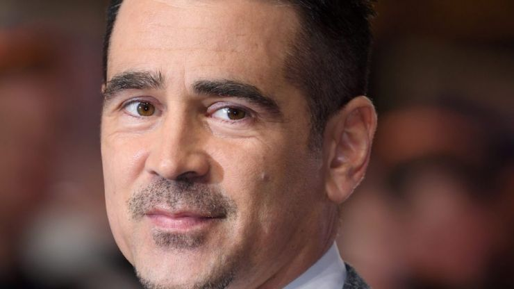 Colin Farrell's eyebrows won big at the Golden Globes last night