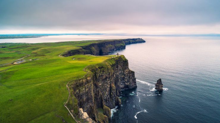 The Wild Atlantic Way has been included in the top 25 places to visit this decade