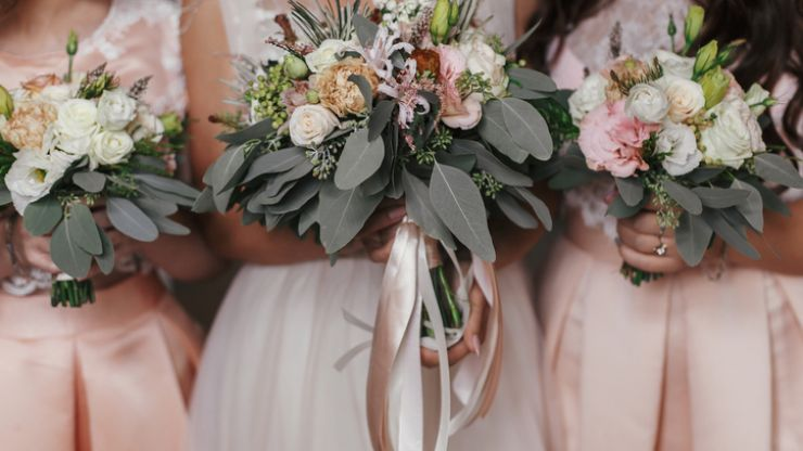 The super glam bridesmaid dress trend you're going to see everywhere during 2020