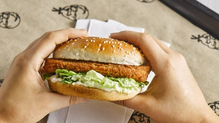 KFC have launched an all-new vegan burger in Ireland