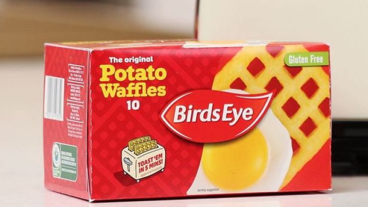 Birds Eye confirms that you can cook its waffles in the toaster