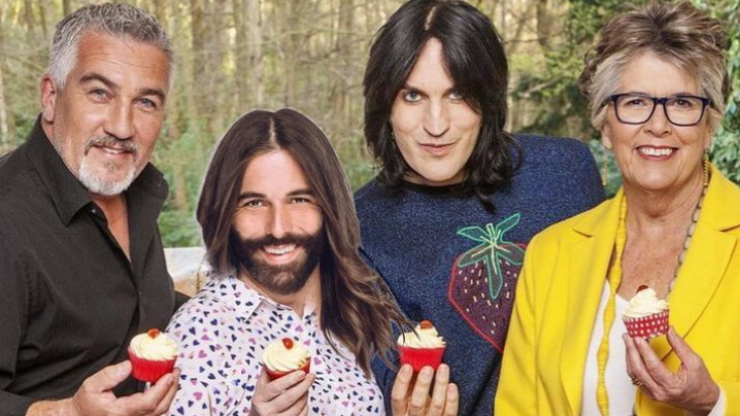 Queer Eye's Jonathan Van Ness teases that he's in the running to be the new GBBO host