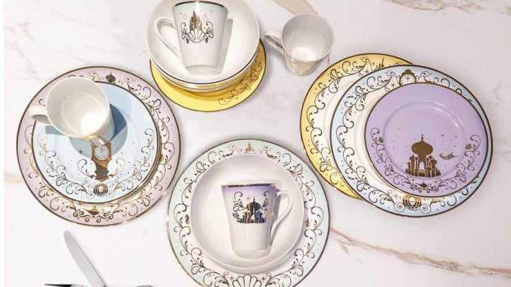 You absolutely need this Disney dinner set for the house you probably can't afford to buy