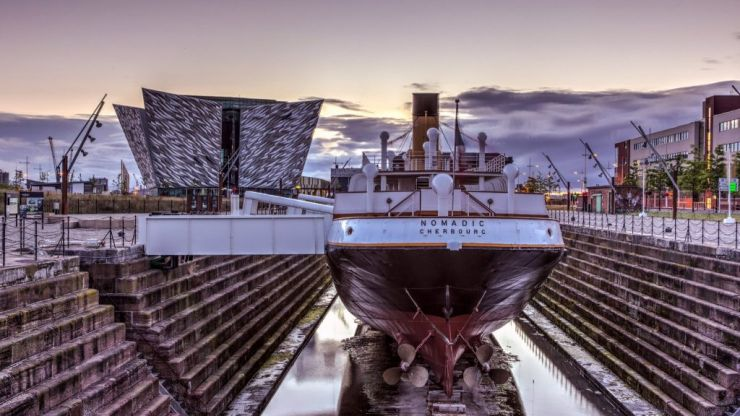 It's a Titanic giveaway! WIN 2 tickets to the Titanic Belfast next month