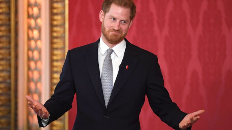A royal replacement: Prince Harry's role as captain-general of the Royal Marines has been named