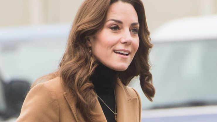Sorry, can we talk about Kate Middleton's €10 leopard-print skirt for a minute?!